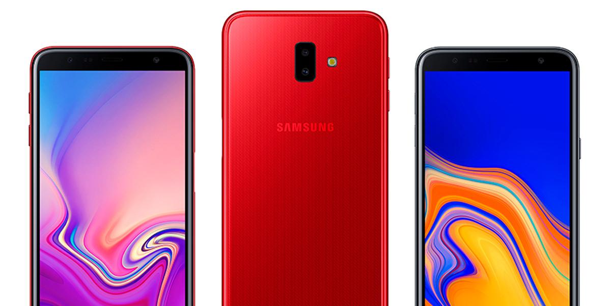Los Samsung Galaxy J6+ y J4+ reciben la actualización de  Android 9 Pie