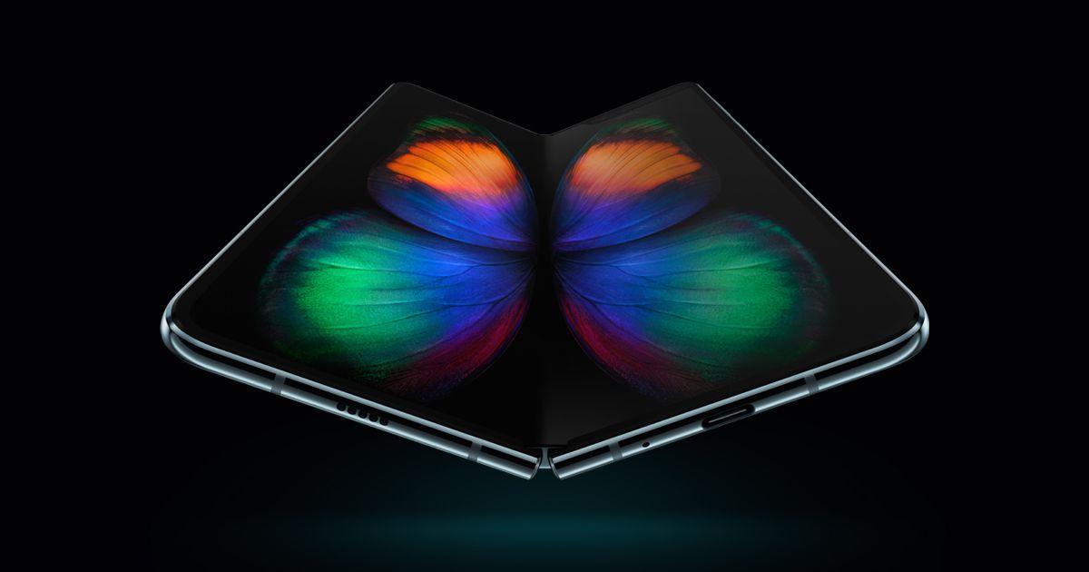 Samsung saca a la venta en abril su primer teléfono plegable o flexible, el Galaxy Fold.
