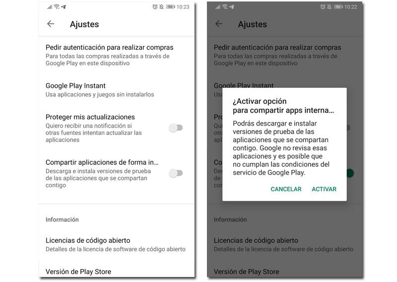 Google Play Store ya permite la actualización simultánea de aplicaciones en Android