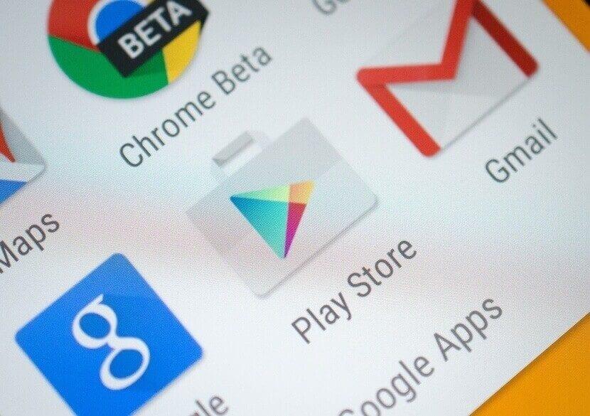 Google play actualiza el botón de la lista de deseos