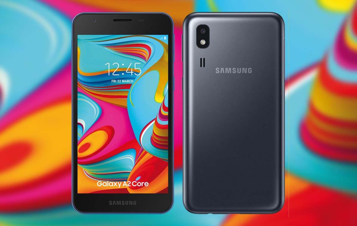 Samsung Galaxy A2 Core: Smartphone con buenas prestaciones y bajo coste.